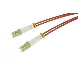 Patchcord OPTO LC/UPC-LC/UPC, MM 50/125 (OM2), DUPLEX, 1M