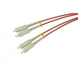 Patchcord OPTO SC/UPC-SC/UPC, MM 50/125 (OM2) 3,0mm, DUPLEX, 2M