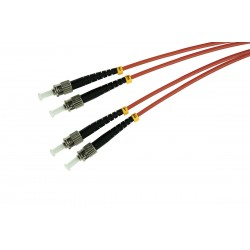 Patchcord OPTO ST/UPC-ST/UPC, MM 50/125 DUPLEX, 1M
