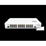 MikroTik CRS125-24G-1S-IN , 24xGigabit LAN, 1xSFP, RouterOS L5 Δικτυακός εξοπλισμός