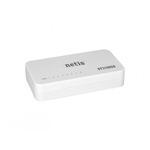 Netis ST3108GS 8-Port Gigabit Ethernet Switch Δικτυακός εξοπλισμός