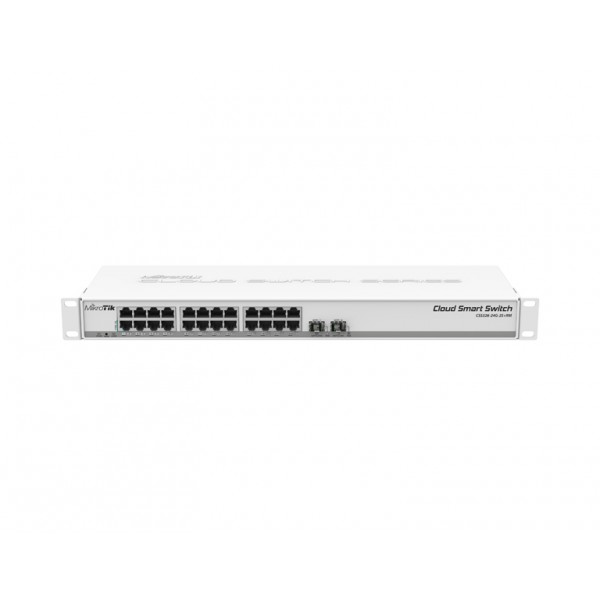MikroTik CSS326-24G-2S+RM Cloud Smart Switch, 2x SFP+, SwOS Δικτυακός εξοπλισμός