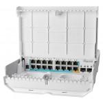 MikroTik CRS318-1Fi-15Fr-2S-OUT netPower 15FR 18-port Switch PoE