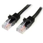 Patch cord  UTP cat5e -  1.0m μαύρο 10τμχ BLACK FRIDAY